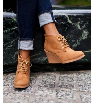 shoes wedges black wedgeboots ankle boots booties booties shoes fall booties