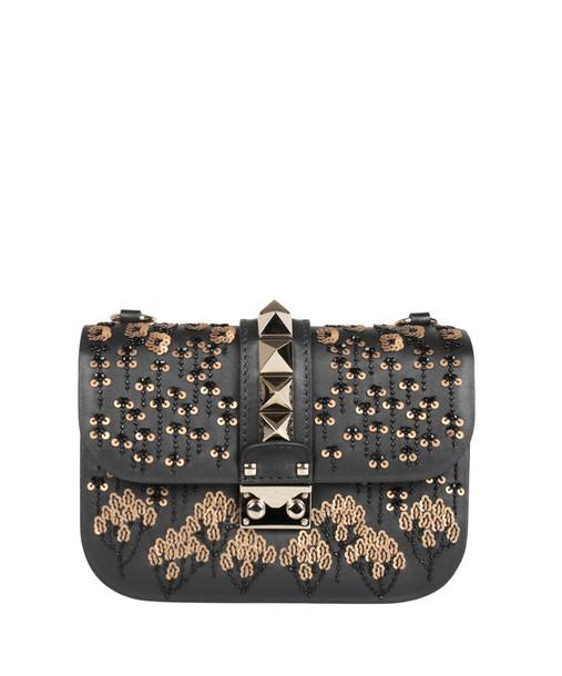 Valentino Garavani embroidered bag leather bag leather