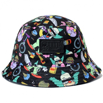 RATED K Black Bucket Hat