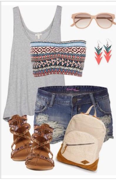 underwear bandeau aztec gorgeous