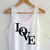 Love Tank Top By Digitalprintcustom