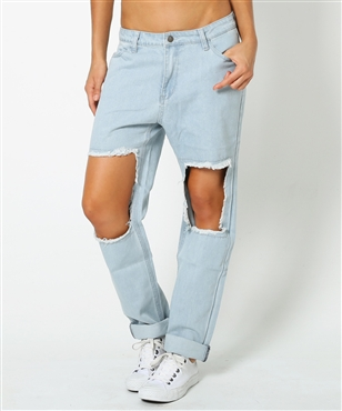 ROUGHED UP BF JEAN | Jeans | Clothing | Shop Womens | General Pants Online