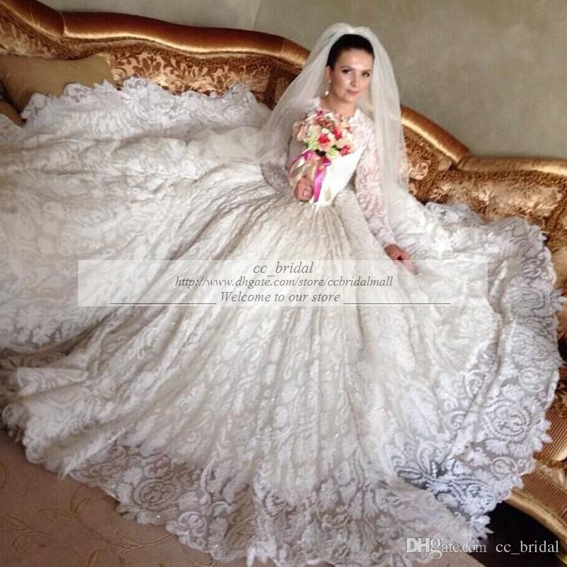 Cheap Ball Gown Dresses Famous Designer 2015 Fall Wedding Dresses ...