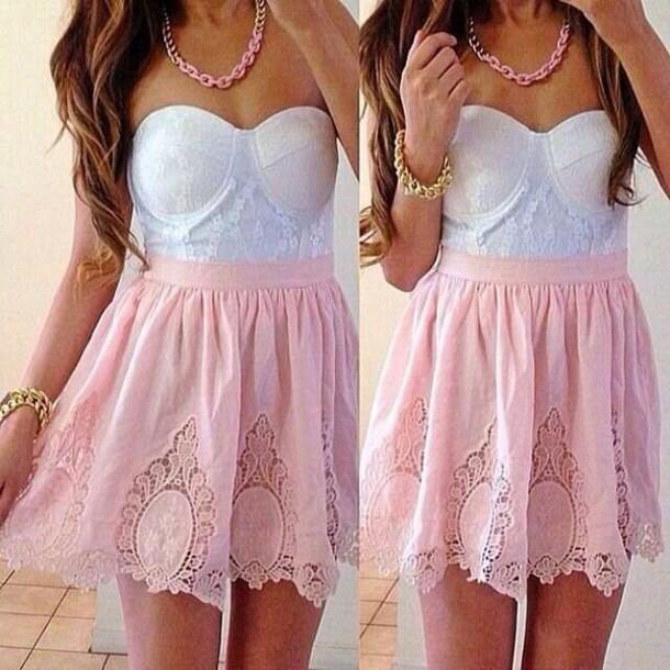 dress tank top skirt