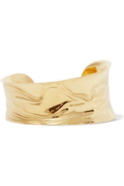 Leigh Miller cuff gold jewels