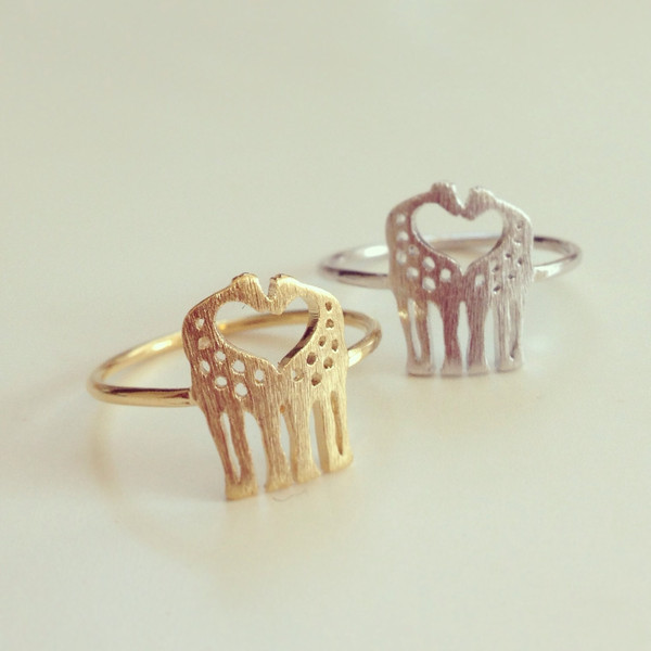 louun — Love Giraffes Ring