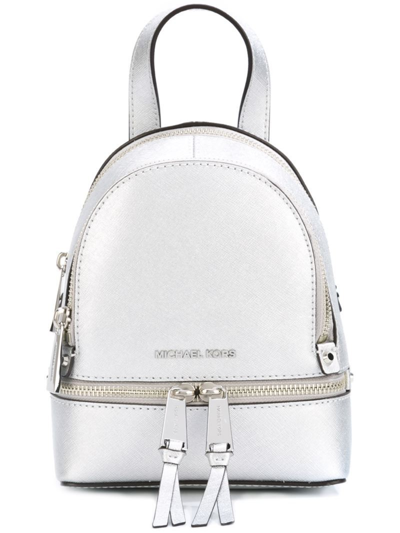 Michael Michael Kors extra small 'Rhea' backpack, Grey