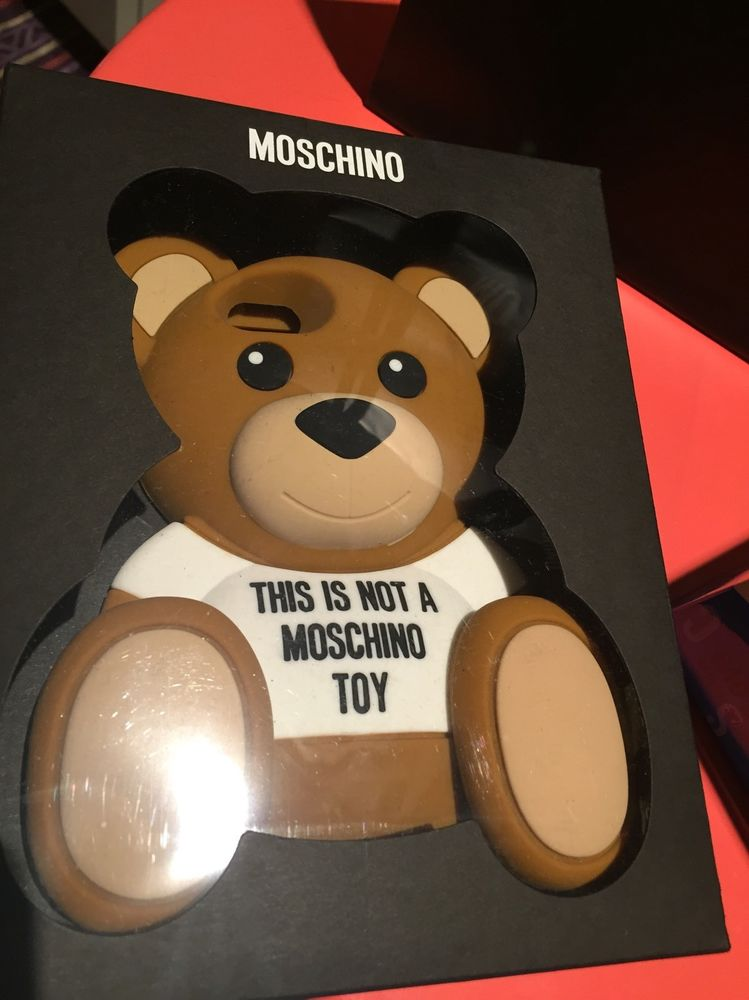 Moschino this is not a toy iphone 6 case New u0026 Boxed Original Bar ...
