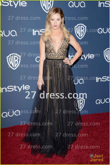 ashley tisdale dress eveningdress promdress celebritydress 2014 celebrity dress 71st golden globe award
