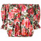 Dolce & gabbana rose (pink) print cropped blouse, women's, size: 42, cotton
