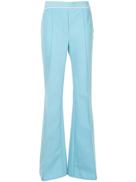 ellery women blue wool pants
