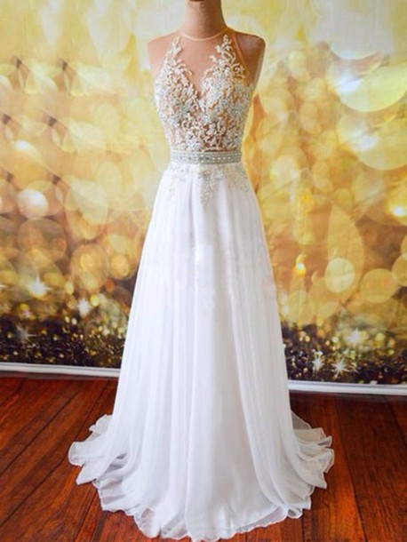40d0d06b826 dress girly girl girly wishlist prom dress prom prom gown prom beauty long  prom dress white