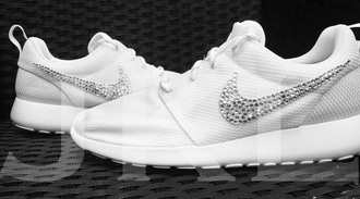 shoes nike nike shoes nike roshe run roshe runs roshes nike shoes womens roshe runs swarovski diamonds sneakers nike sneakers white sneakers pastel sneakers womens nike shoes roshe runs