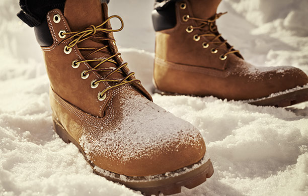 Rugged boots, boat shoes, outerwear and clothing
