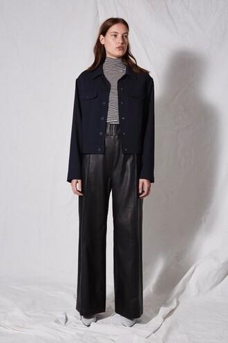 jacket style navy blue