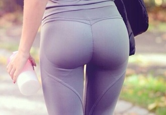 pants yoga pants spandex grey sweatpants workout leggings gym