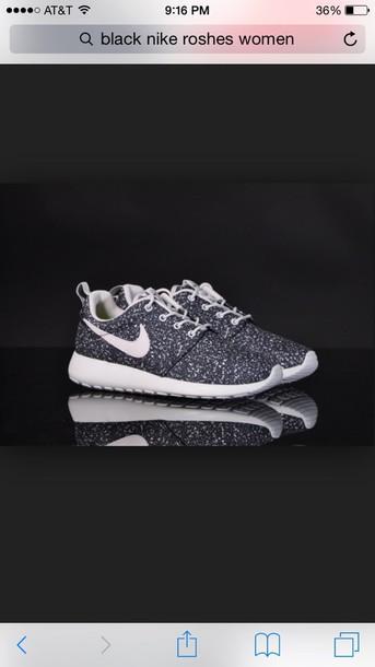shoes roshe runs nike grey roshes