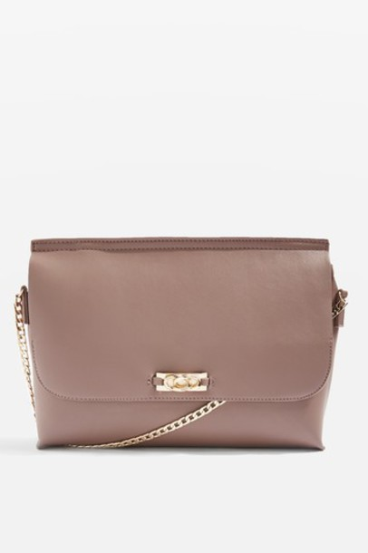 Topshop bag clutch plum