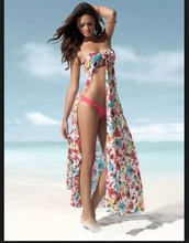 swimwear,cover up,dress,colorful swimwear,long,beautiful,silk,floral swimwear,slit,sexy,flowy,colorful