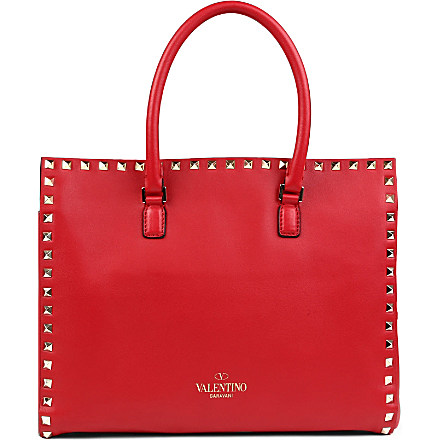 VALENTINO - Rockstud leather tote | Selfridges.com