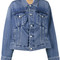 Balenciaga - swing denim jacket - women - cotton - 44, blue, cotton