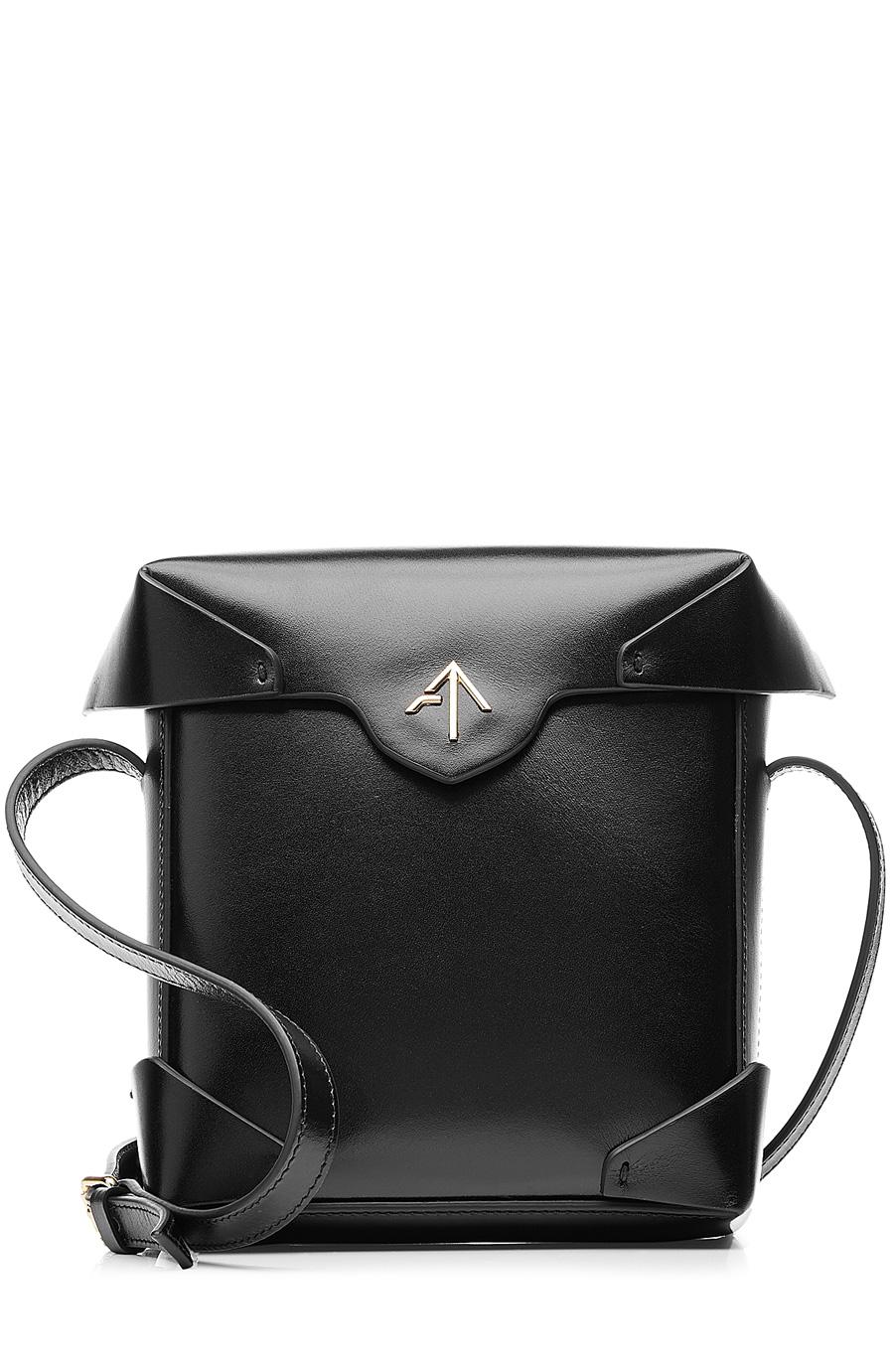 Manu Atelier - Mini Pristine Leather Shoulder Bag