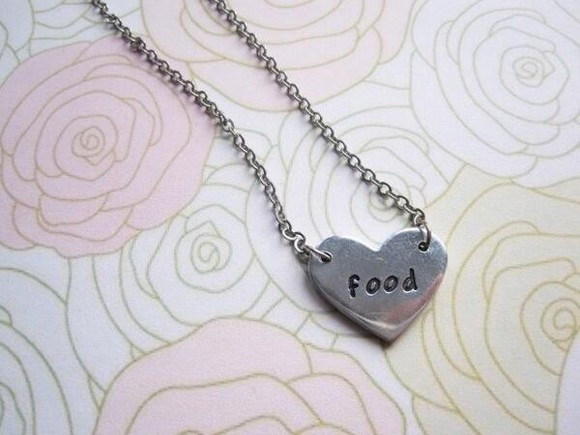 food jewels chain necklace stuff nice