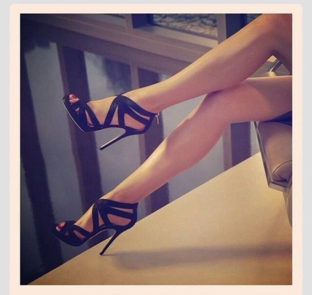 black high heels sexy