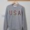 Usa hoodie sweatshirt shirt top unisex adult size