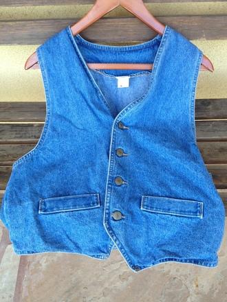 jeans jean vest vintage fashion hippie vest bohemian vest boho vest denim vest vintage vest hippie bohemian boho boho chic