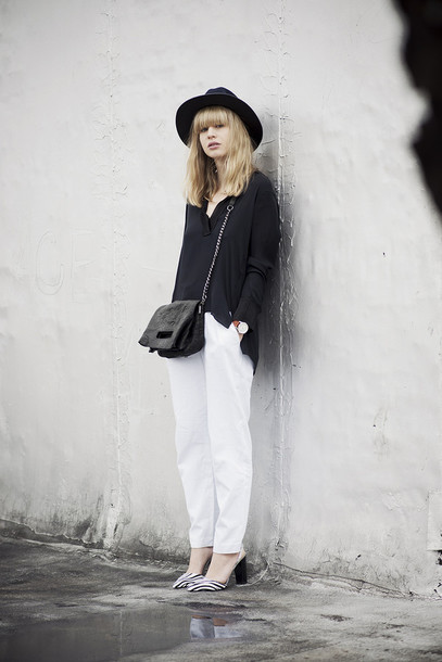 just another me pants blouse bag shoes