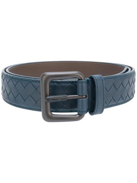 weave belt blue