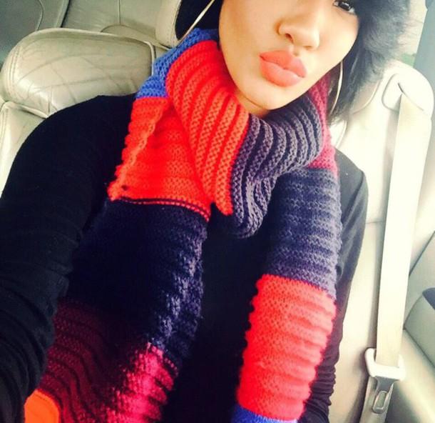 scarf multi color