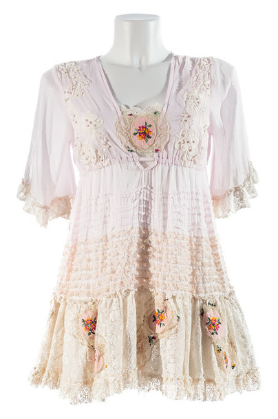 Dress Shabby Chic Bohemian Boho Boho Chic Lace Lace