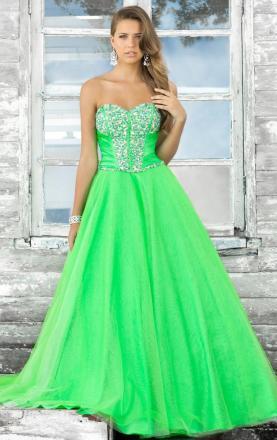 Princess Style A-line Sweetheart Sleeveless Long Prom Dress for Cheap|KissyDress UK
