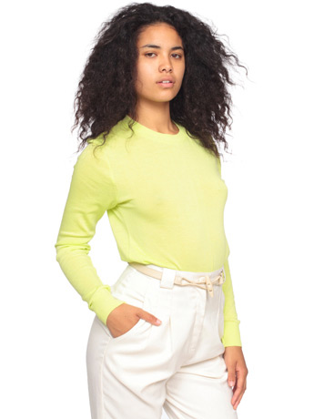 Unisex knit sweater crew neck