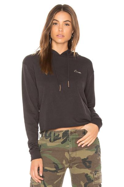 Spiritual Gangster hoodie black sweater