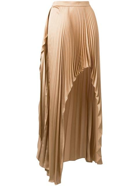 Stella McCartney Asymmetric Pleated Skirt - Farfetch