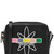 Printed Leather Cross Body Bag