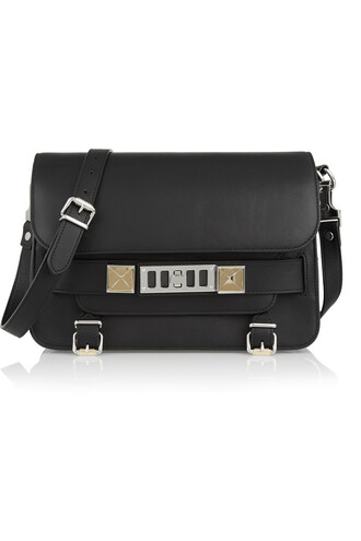 classic bag shoulder bag leather black