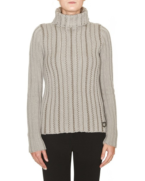Salvatore Ferragamo sweater pink beige