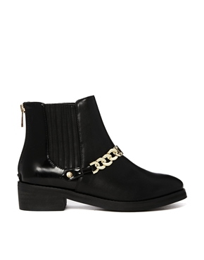River Island | River Island Percy Chain Chelsea Boots at ASOS