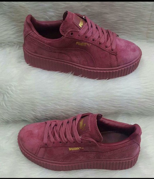 puma low top sneaker