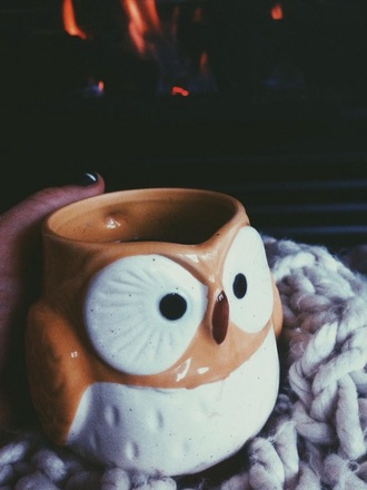 hair accessories mug owl