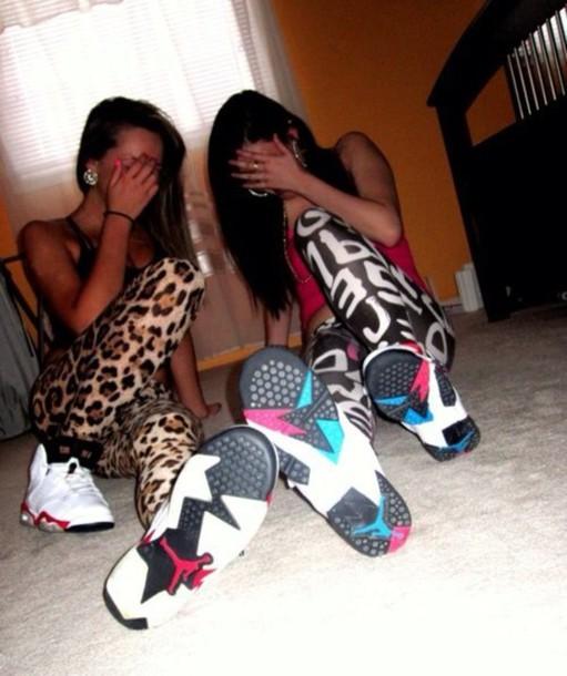Leggings: tights, leopard print, letters/numbers, cute ...