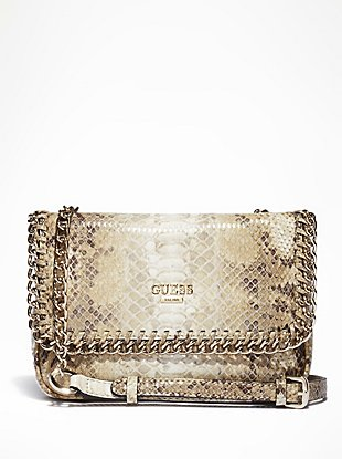 Wild Child Printed Flap Bag at Guess