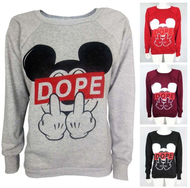 coat sweater mickey mouse sweater