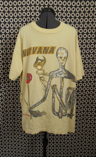 t-shirt nirvana band t-shirt