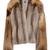 Mink Fur With Cross Fox Fur Panel Jacket by Sally LaPointe | Moda Operandi