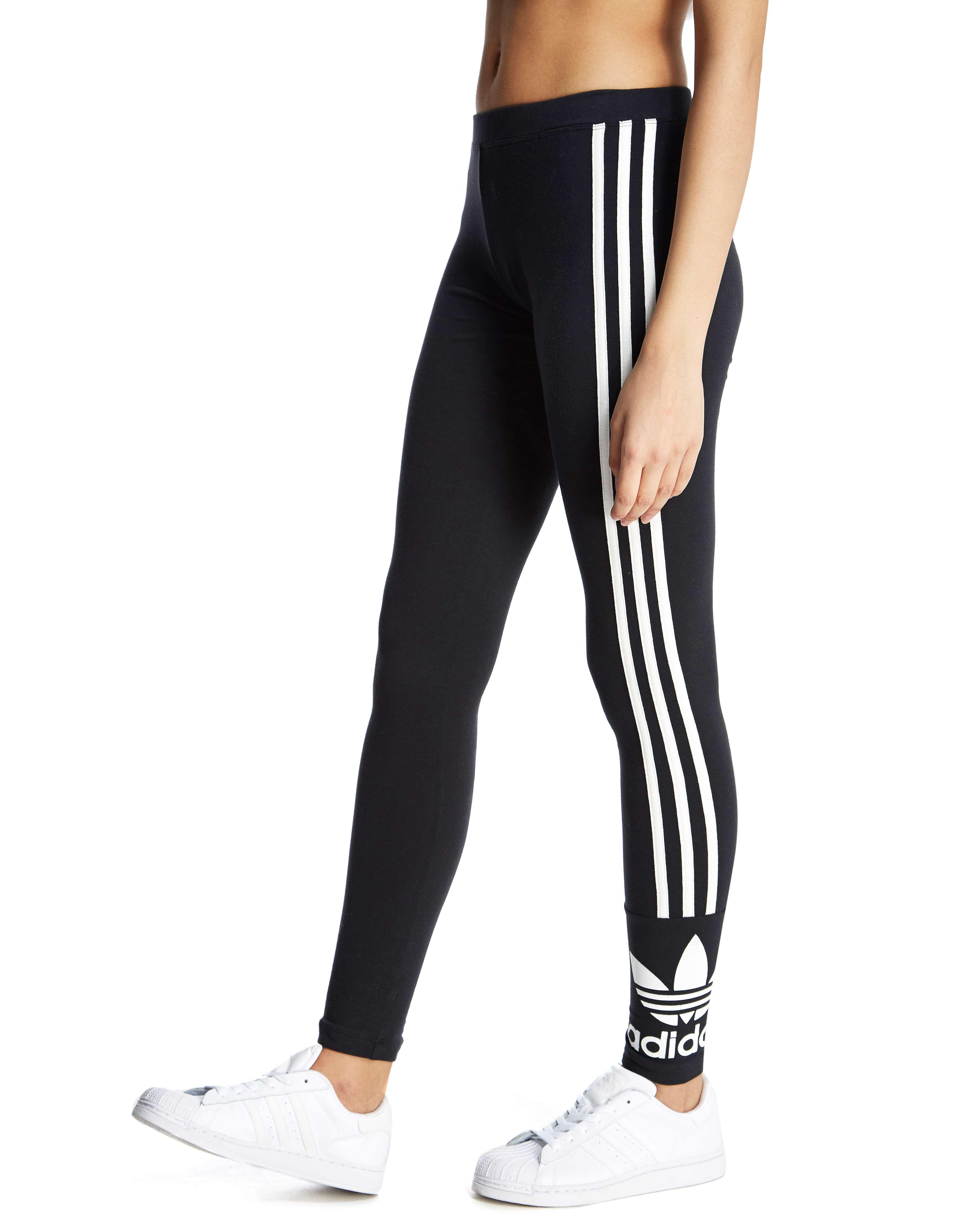 7431d69eca22 adidas Originals 3 Stripe Trefoil Leggings